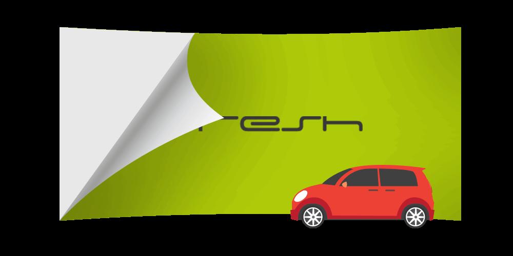 Folia wylewana - oklejanie samochodów